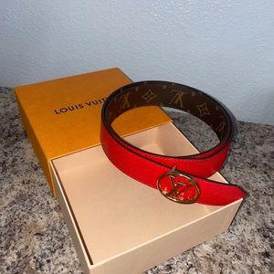 Louis Vuitton double face belt